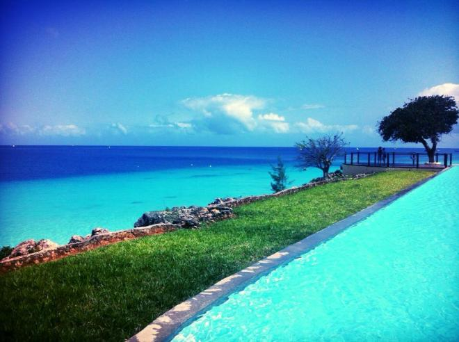Where the pool meets the ocean
